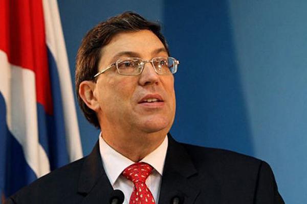 Le ministre des Affaires étrangères signale que Cuba maintient sa politique de tolérance 0 envers les drogues