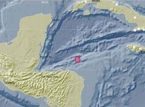 Reportan sismo perceptible en Occidente de Cuba