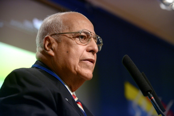 Recibe vicepresidente cubano a Ministro argelino