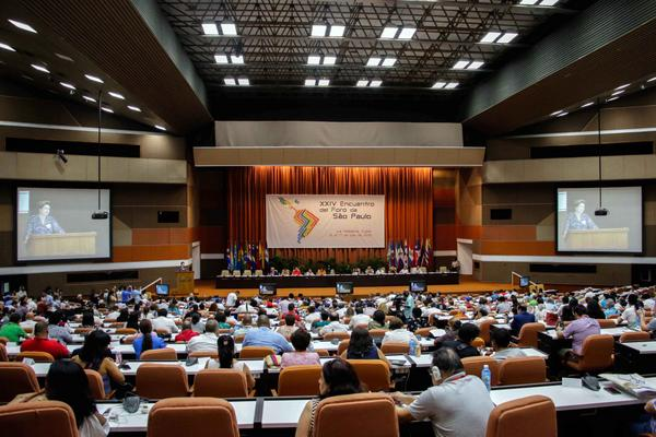 Sao Paulo Forum, meeting for solidarity and commitment