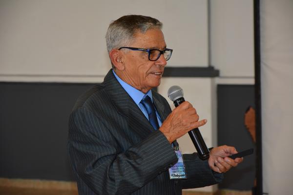 El Dr. Jorge Rodríguez Fernández, presidente del comité gestor del Congreso, presenta la conferencia sobre el protocolo de atención temprana del neurodesarrollo, en el II Congreso Internacional de Neurodesarrollo y Atención Temprana, en el hotel Memories Varadero del homónimo balneario, en Matanzas, Cuba, el 15 de junio de 2018. ACN FOTO/ Roberto Jesús HERNÁNDEZ HERNÁNDEZ
