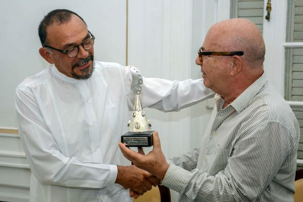 Fernando Ortiz International Award Granted in Havana