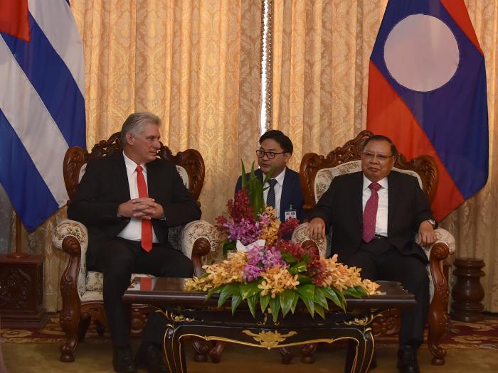 Cuban President: Laos inspires