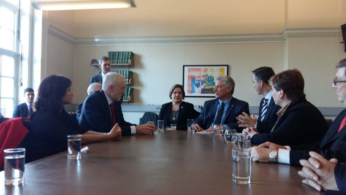 Cuban President meets with Leader of the Labour Party