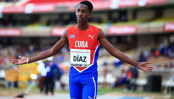 Cuban Jordan Diaz among the five finalists for the 2018 Male Rising Star Award