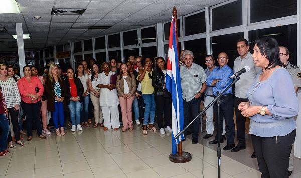 En Cuba primeros cooperantes de la salud tras cumplir misión en Brasil