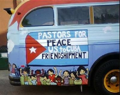 Pastors for Peace visit Santa Ifigenia cemetery in Cuba