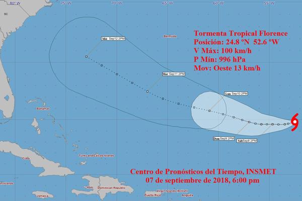 Aviso de ciclón Tropical No. 2. Se forma la tormenta tropical Helene