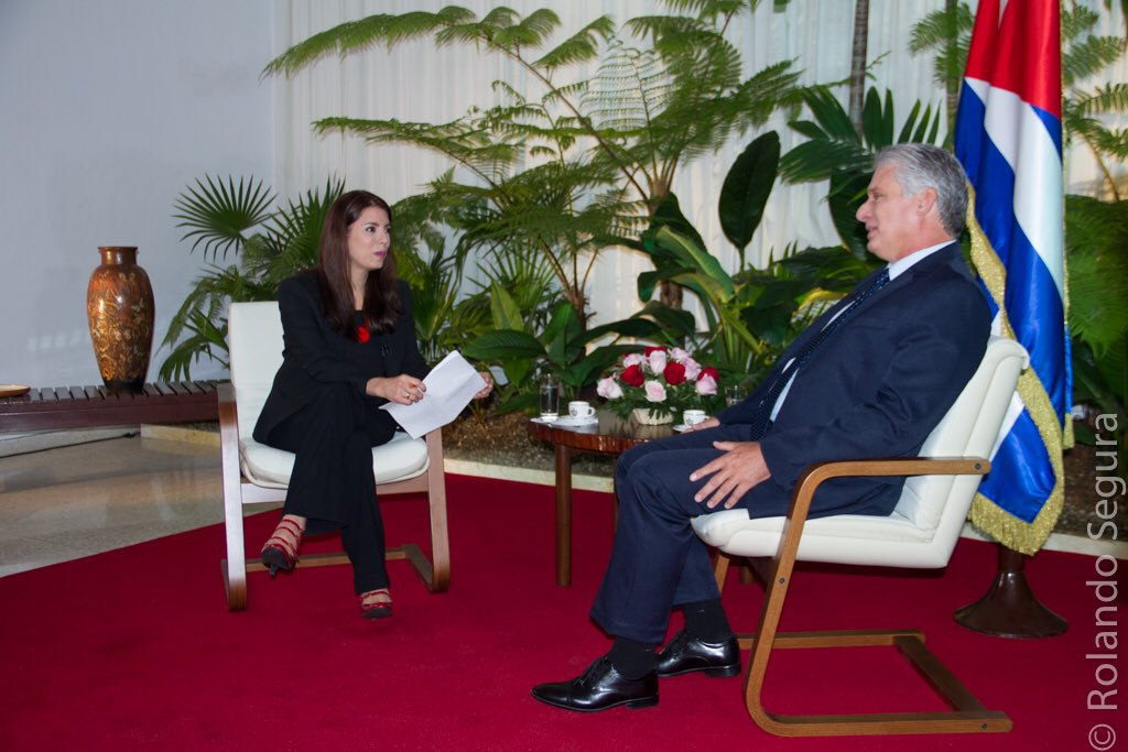 Díaz-Canel: Cuba está abierta al diálogo con EEUU pero sin prepotencias
