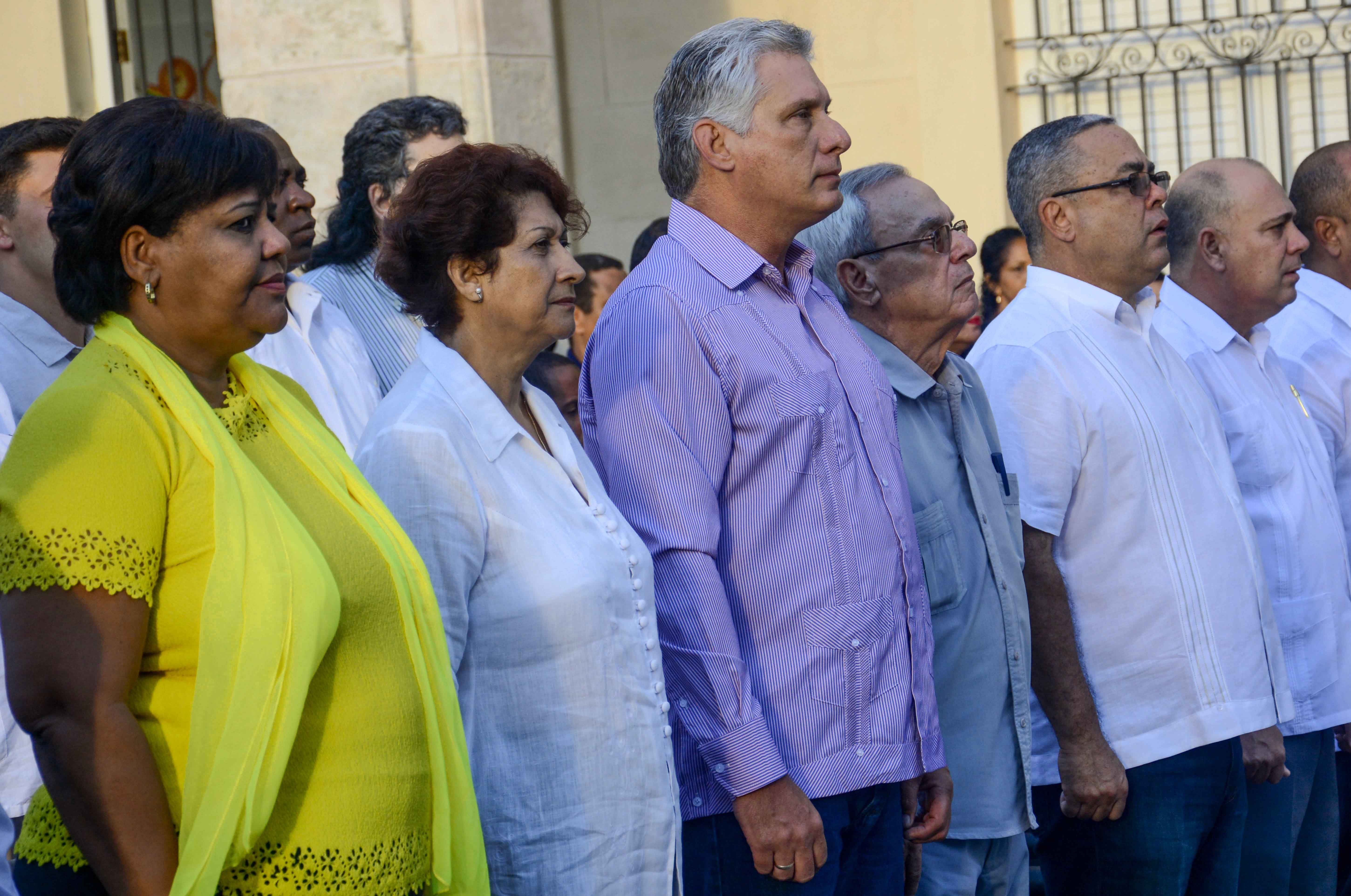 Cuban President attends Inauguration Official Ceremony of the 2018-19 School Year
