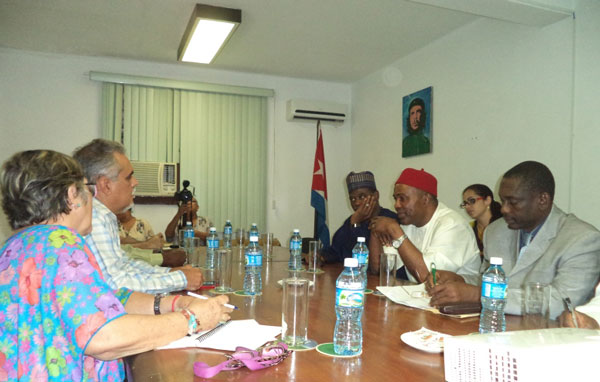 Nigeria muestra interés en colaboración científica con Cuba