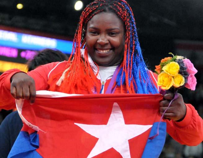 Idalis Ortiz placed Cuba ninth in 2019 Osaka Judo Grand Slam