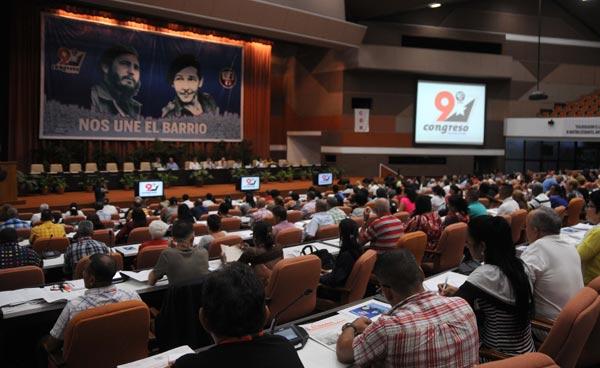 Se inició hoy en La Habana IX Congreso de los CDR
