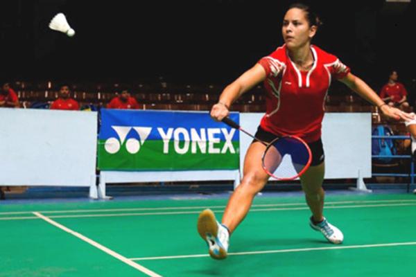 Cubana Taymara Oropesa gana oro en torneo de Bádminton en México