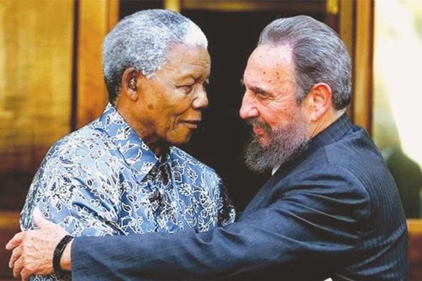 Fidel y Mandela, hermanos de lucha
