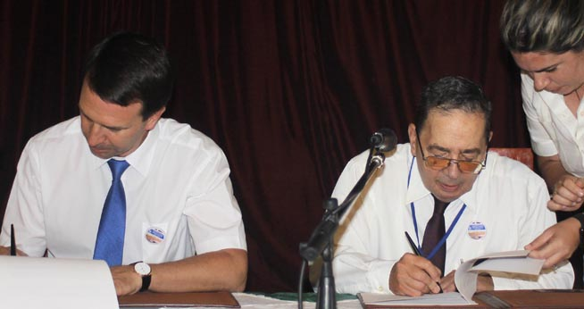 Cuban-Russian scientific collaboration is described as positive
