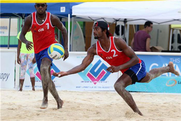 Cuban Pairs to attend 5th Stop of the NORCECA Beach Volleyball Circuit