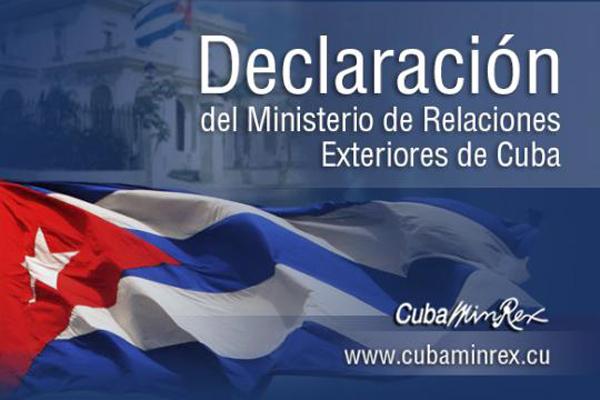 Rechaza Cuba injerencia y exclusión de Venezuela en Cumbre de las Américas