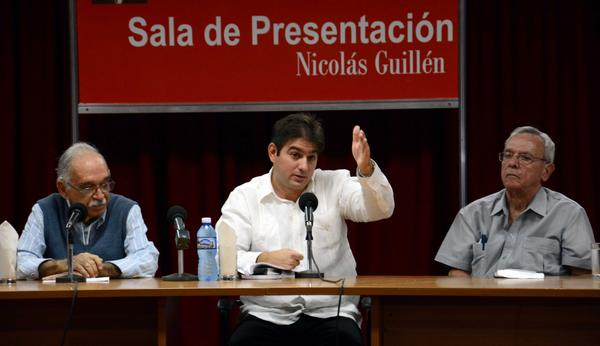 Abel Gonzalez Santamaria, compiler of Raul Castro and Our America.