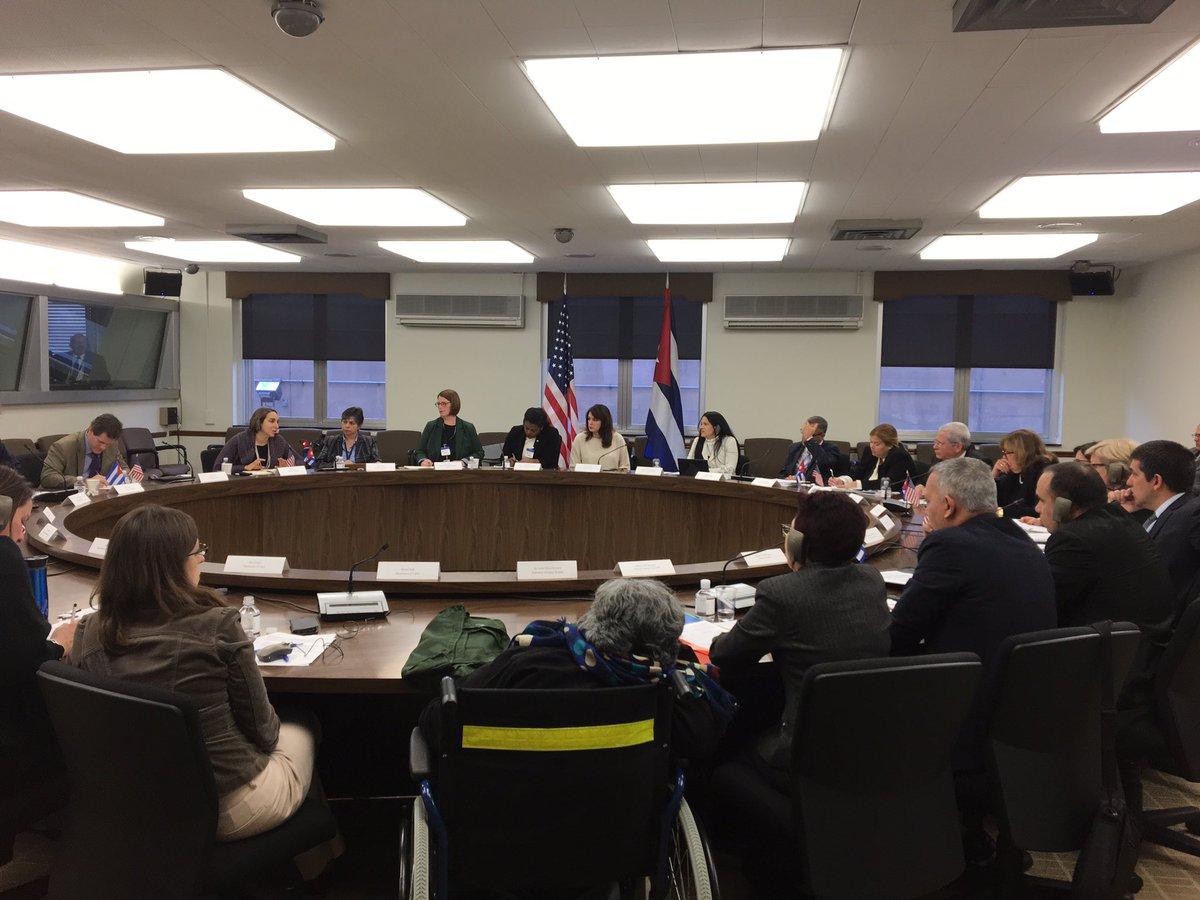 Conversaron Cuba y EE.UU. sobre la trata de personas