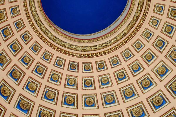 Detalle de la cúpula del Capitolio, Monumento Nacional de Cuba, en La Habana, Cuba, el 24 de febrero de 2018. ACN FOTO/Omara GARCÍA MEDEROS