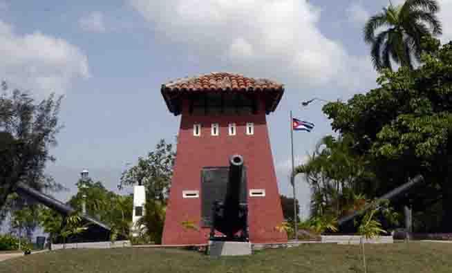Museo a cielo abierto Loma de San Juan, lugar del último combate de la Guerra Hispano-Cubano-Norteamericana, acontecimiento que cumple su Aniversario 120, en Santiago de Cuba, el 3 de julio de 2018. ACN FOTO/ Miguel RUBIERA JÚSTIZ