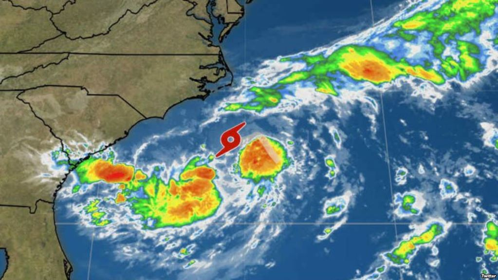 Depresión Tropical No. 3 se convierte en tormenta tropical Chris