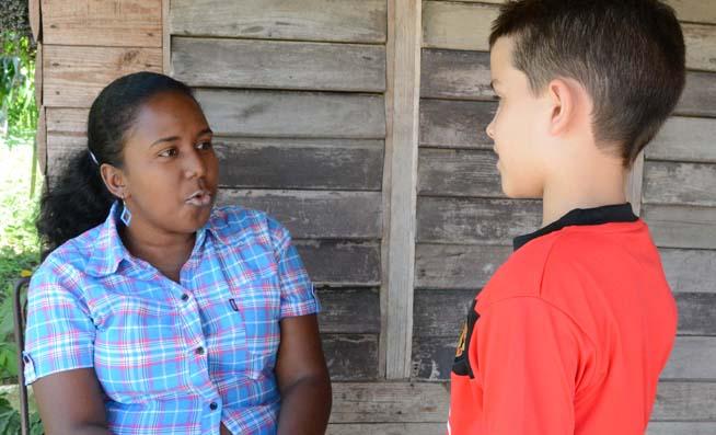 Desde pequeña Yudalnis soñaba con ser maestra por su inclinación natural en la comunicación con los niños.