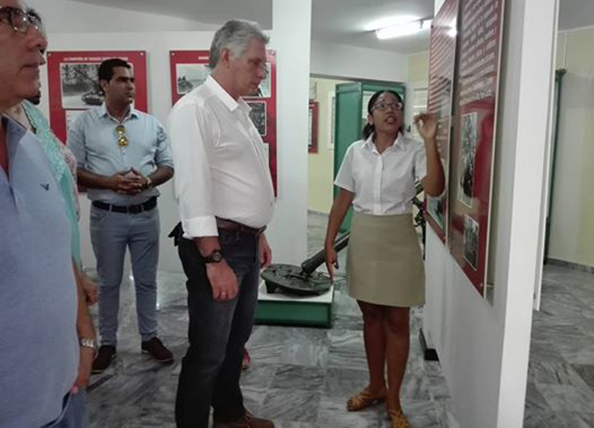 Díaz-Canel en Matanzas