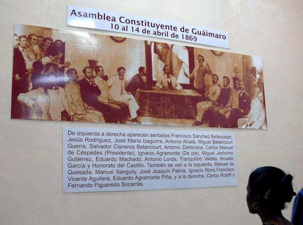 Museo de la Constitución, lugar donde se atesoran documentos, objetos e ilustraciones referentes a la guerra de independencia y la Constitución de Guáimaro. Camagüey, Cuba, 10 de julio de 2018. ACN FOTO/ Rodolfo BLANCO CUÉ