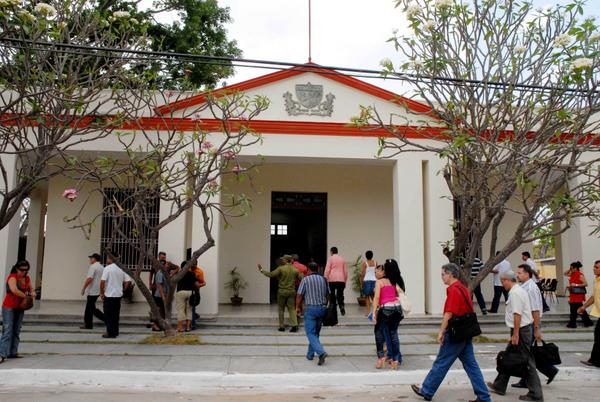 Museo de la Constitución de Guáimaro, lugar donde se firmó, el 10 de abril de 1869, la primera Constitución de la República de Cuba en Armas. Camagüey, 11 de julio de 2018. ACN FOTO/ Rodolfo BLANCO CUÉ