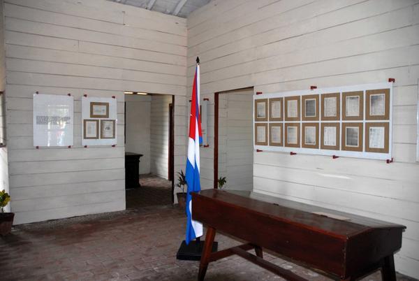 Casa Museo La Yaya, sitio histórico situado en el municipio camagüeyano de Sibanicú, donde se firmó la última de las Constituciones Mambisas, el 29 de octubre de 1897, en Camagüey. Cuba, 11 de julio de 2018. ACN FOTO/ Rodolfo BLANCO CUÉ