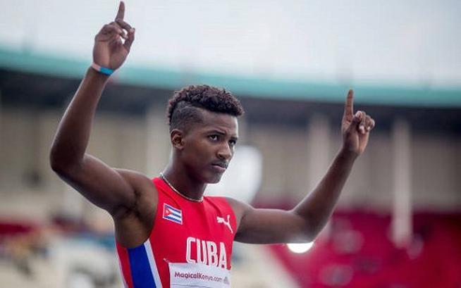 Eligen al saltador Maikel Vidal mejor atleta juvenil del año en Camagüey