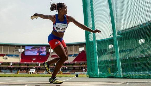 Cuban discus thrower to finals in IAAF World U20