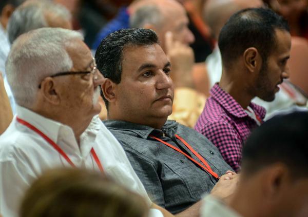 Participantes en la inauguración del X Congreso de la Unión de Periodistas de Cuba (UPEC) , que tiene por lema La Verdad Necesita de Nosotros, en el Palacio de Convenciones de La Habana, el 13 de julio de 2018. ACN FOTO/Abel PADRÓN PADILLA