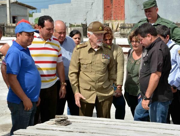 El Comandante de la Revolución Ramiro Valdés Menéndez. ACN FOTO/ Rodolfo BLANCO CUÉ