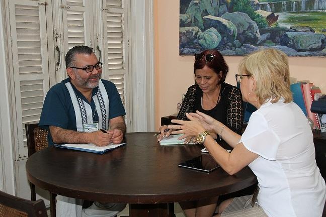 Evalúan de positiva visita a Cuba de experto de la OIEA