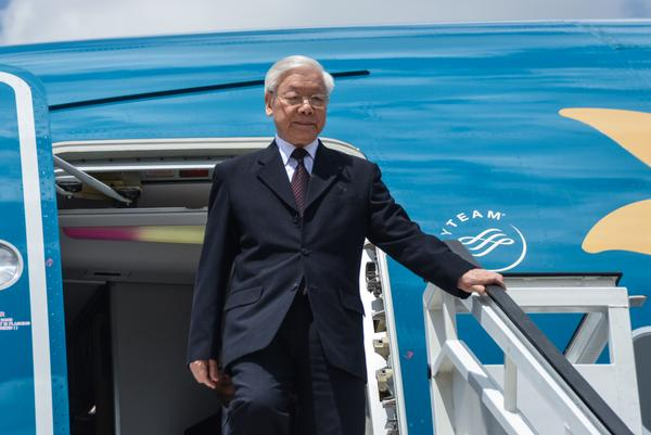 Líder de Vietnam rendirá homenaje a Fidel