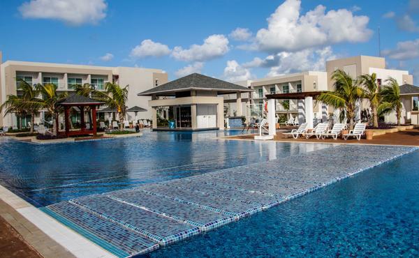 Hotel Ocean Casa del Mar, una de las opciones del polo turístico de Cayo Santa María, en Villa Clara, Cuba. 6 de diciembre de 2017. ACN FOTO/Abel PADRÓN PADILLA