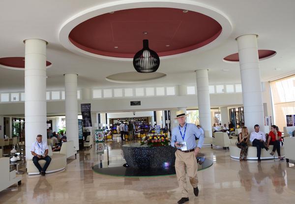 Hotel Sercotel Experience del polo turístico Cayo Santa María, escenario principal de la Feria Internacional de Turismo FITCUBA 2018, en el municipio de Caibarien, provincia de Villa Clara, Cuba, el 3 de mayo de 2018. ACN FOTO/ Arelys María ECHEVARRÍA RODRÍGUEZ