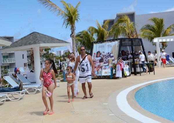 Hotel Sercotel Experience del polo turístico Cayo Santa María, escenario principal de la Feria Internacional de Turismo FITCUBA 2018, en el municipio de Caibarien, provincia de Villa Clara, Cuba, el 3 de mayo de 2018. ACN FOTO/ Arelys María ECHEVARRÍA RODRÍGUEZ/