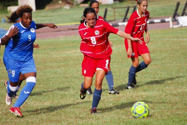 Cuba women´s team to Caribbean finals in soccer