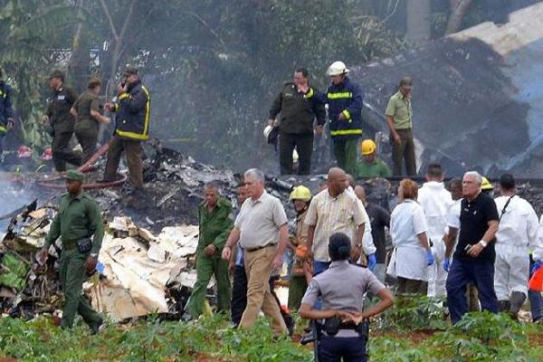 President Miguel Diaz-Canel Regrets Tragic Air Accident in Cuba