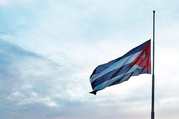 Official Mourning in Cuba