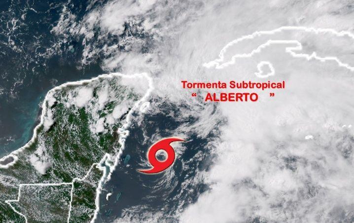 Aviso de alerta temprana No 2 por Tormenta subtropical Alberto