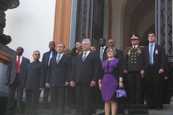 Cuban President pays tribute to Simon Bolivar