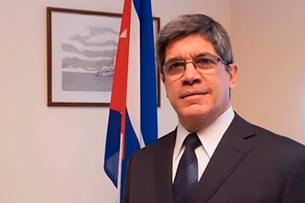 EE.UU. vuelve a desafiar a la comunidad internacional, aseguró diplomático cubano