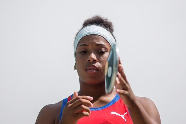 Discóbola cubana Melany Matheus buscará el oro en Olimpiadas de la Juventud