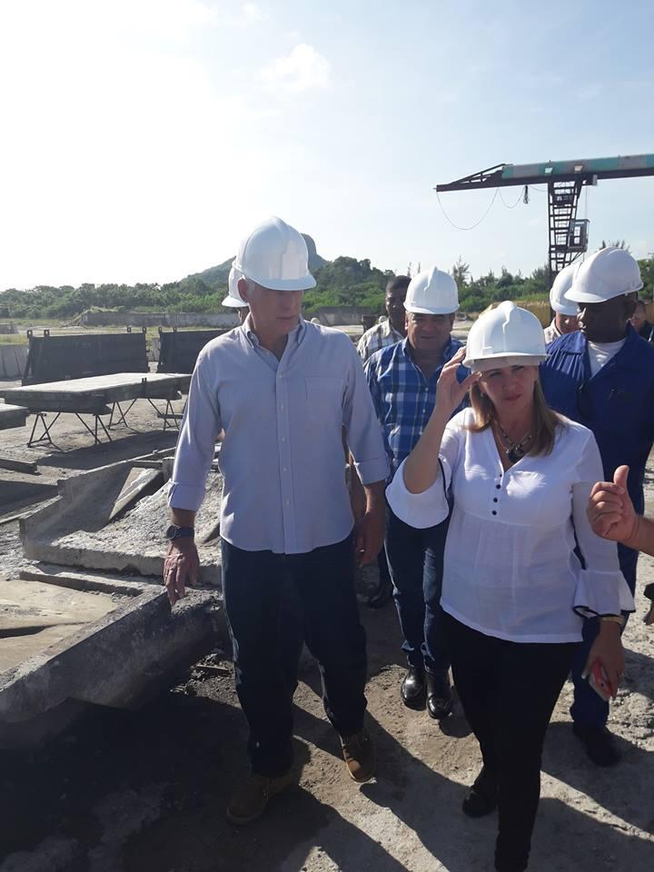 Diaz-Canel indaga por la producción de viviendas en la Isla de la Juventud que este año ha culminado 84 inmuebles.