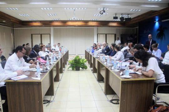 Celebran ronda de diálogo de derechos humanos entre Cuba y la Unión Europea